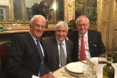Alla Cena dei Relatori, con il Prof. Joao Carlos Sampaio Goes ed il Prof. Brian Toth